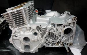Vapour Blasted CB900 Engine Cases